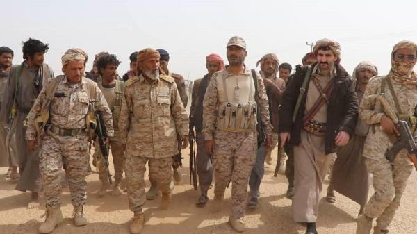 قائد العمليات المشتركة يؤكد من مأرب: لا تراجع عن تحرير صنعاء