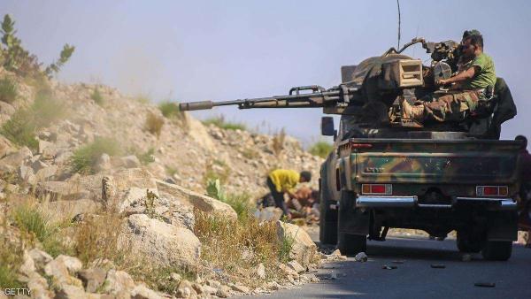 القوات الحكومية تُجهز على قائد القطاع الغربي للحوثيين في تعز