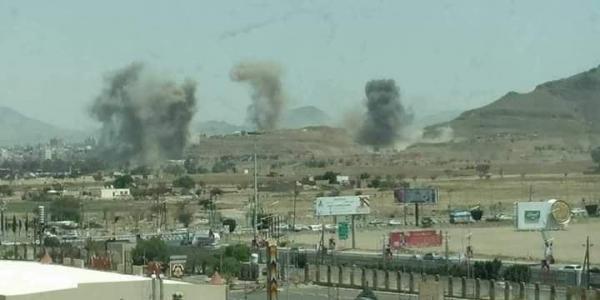 التحالف ينفذ ضربات جوية لتدمير أهداف عسكرية حوثية