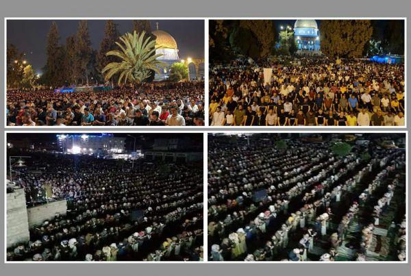 من القدس إلى ذمار .. صلاة التراويح رغماً عن الهمجية الإسرائيلية والحوثية