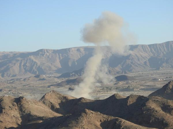 غارتان للتحالف تخلفان عشرات القتلى والجرحى الحوثيين بصرواح مأرب